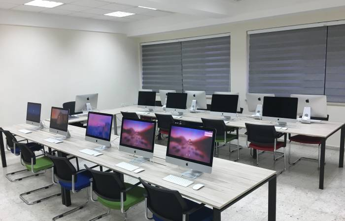 New and Refurbished labs in the Science Building