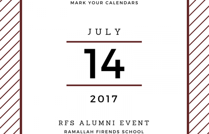 Save the Date! ALL RFS Alumni and Attendees are invited!