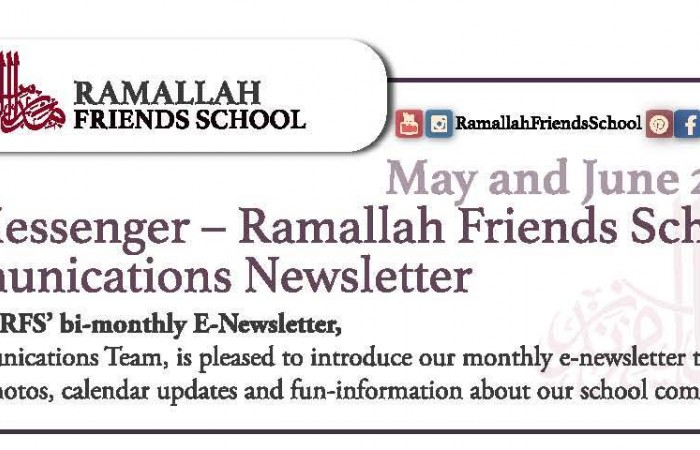 The Messenger/ NEW RFS Communications Newsletter!