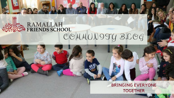 New Blog Post @ Ramallah Friends School Community Blog