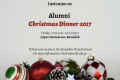 RFS Alumni Christmas Dinner 2017 - Buy your tickets now!