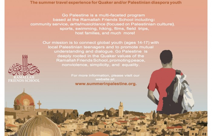 Go Palestine Summer Program 2018