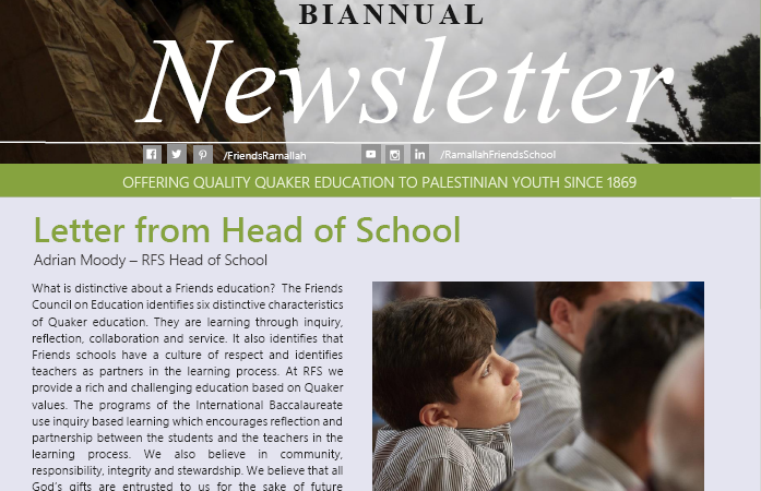 Biannual Newsletter - Winter 2018