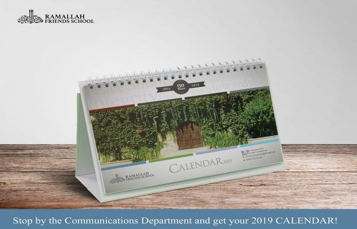 Buy your 2019 RFS Calendar Now!