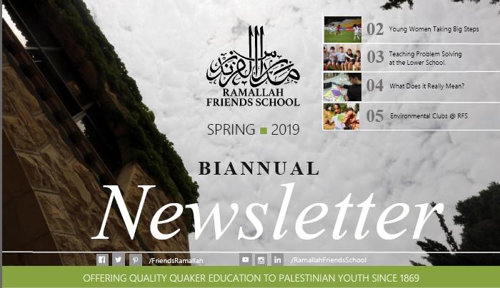 Biannual Newsletter - Spring 2019