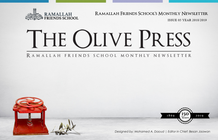 Olive Press Issue 20 - Last one this school year!