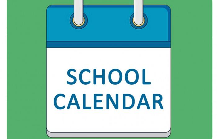 School Calendar - for Print