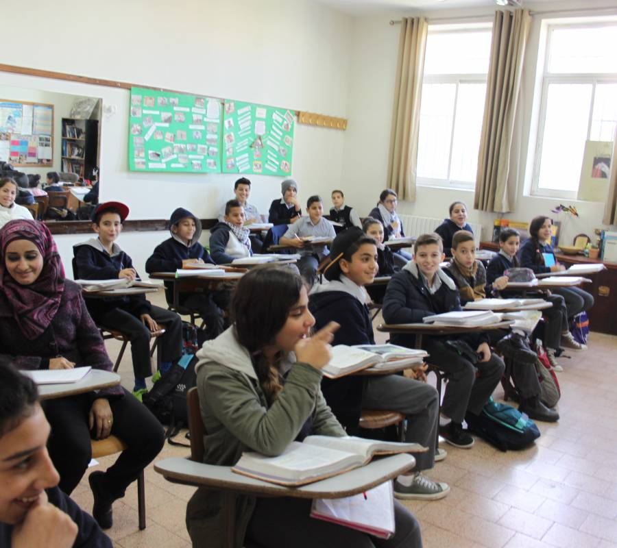Ramallah Friends School, Upper School, Fall 2015