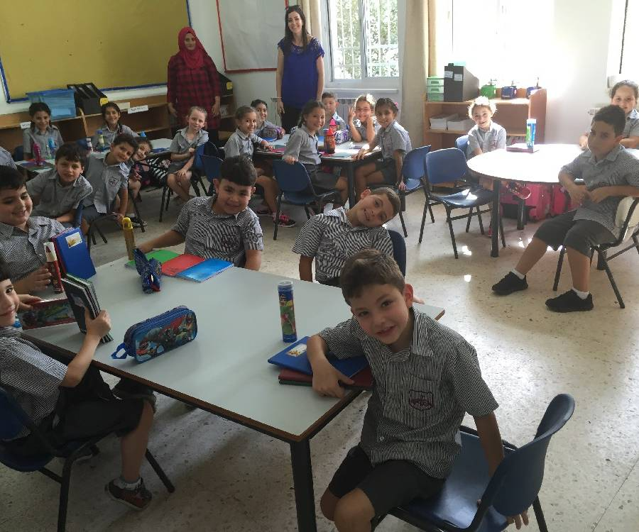 First Day Back - Lower School 2016